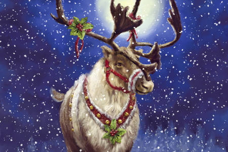 Merry Christmas Animals.Merry Christmas All The Animals Other Abstract Background