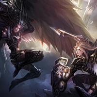 Dark Angel vs Knight Angel