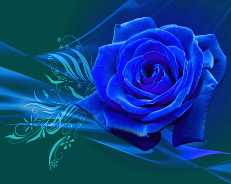 magical rose 3d and cg abstract background wallpapers on desktop
