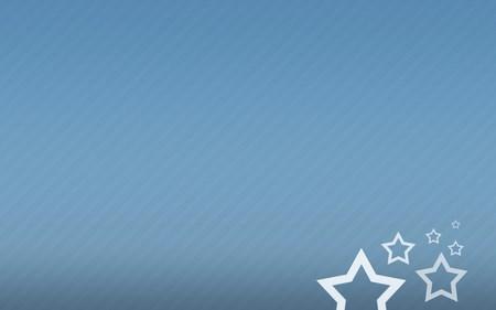 stars in blue wallpaper