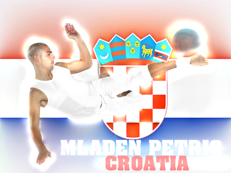 Mladen Petrić CROATIA wallpaper - kroatien, ivica, petric, germany, deutschland, petrol, hamburg, hsv, olic, croatia, hrvatska, wallpaper, mladen, football