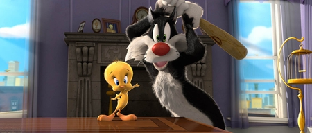 Silvester and Tweety - feline, bird, tweety, ccartoon, silvester