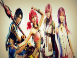 The Ladies from Final Fantasy XIII