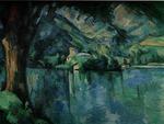 Cezanne - Lake at Annency