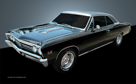 chevelle-ss - cars, chevelle-ss, old cars, chevelle, muscle cars