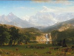 Bierstadt - Indian Encampment