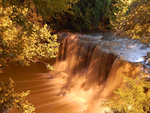 Waterfall of gold