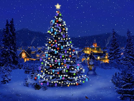Christmas tree other abstract background wallpapers on for Screensaver natale 3d