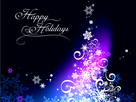 Happy Holidays 3d And Cg Abstract Background Wallpapers On