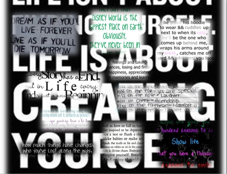 Life Love Collages Abstract Background Wallpapers On Desktop
