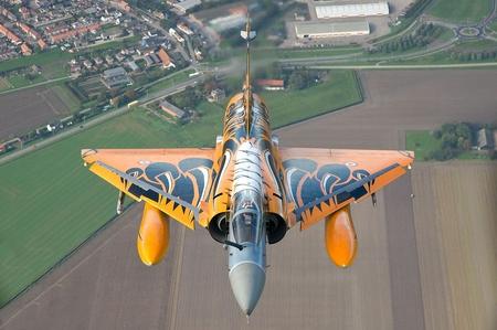 Dassault Mirage 2000 Military Aircraft Background