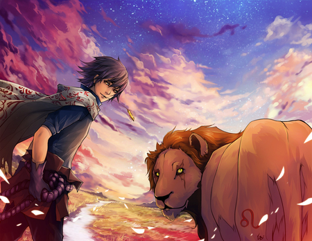 Zodiac Leo Other Animals Background Wallpapers On Desktop Nexus
