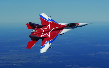 Mig-29 - red air force, russian air force, jet fighter, soviet air force