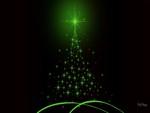 Glowing Green Tree