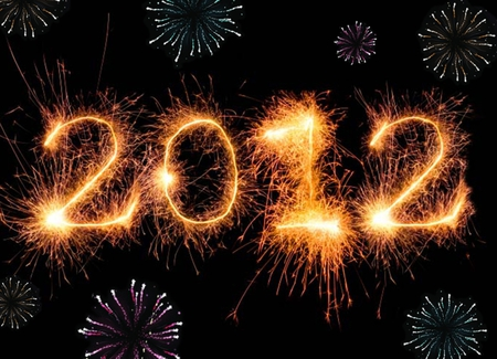 FIREWORKS 2012 - hot, 2012, sparkle, wallpaper