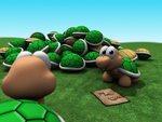 Turtle Pileup