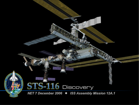 STS-116 Discovery - sts 116 discovery, iss assembly mission