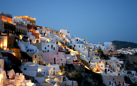 Untitled Wallpaper - white houses, santorini, white, greece