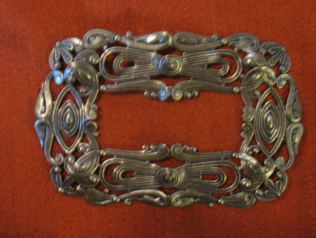Buckle from 1815 - photography, buckles, fashion, jewelry