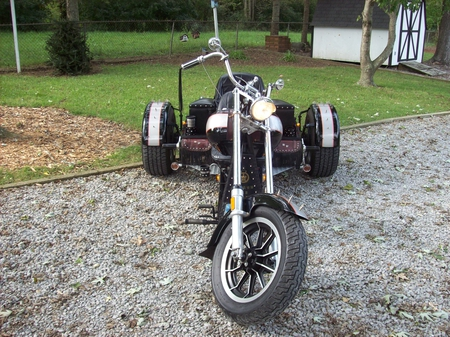 The Outlaw Lowrider - motorcycles, trike, bikes, harley