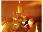 Champagne-candle-light