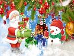 Santa Brings Gifts