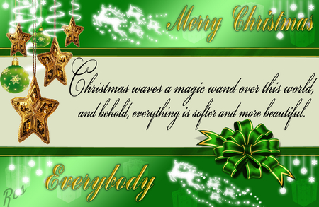 Christmas Quotes - quotes, wand, magic, christmas