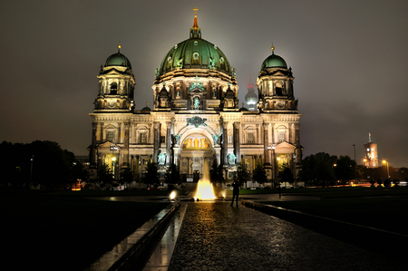 Berlin  Dom - berlin, dom, night, hdr