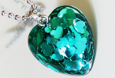 My Turquoise Heart, for all my Friends :) - turquoise, hearts, friendship, heart