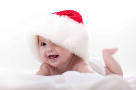 Cute Christmas Baby Wallpaper Merry