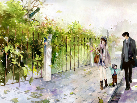 Anime Family Other Anime Background Wallpapers On Desktop Nexus Image 902467