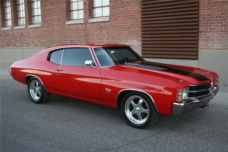 1971 Chevrolet Chevelle Super Sport 454 - red, 454, ss, super sport, chevy, cool, car, chevelle, 1971, muscle car, 71