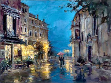Lovers Under The Rain F5