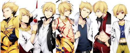 Unlimited Gilgamesh Fate Stay Night Anime Background