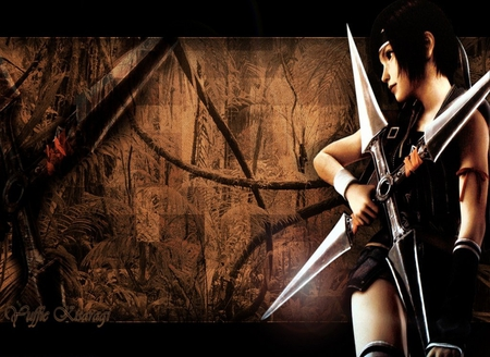 A gift to all Anime-lovers :) - video game, yuffie, final fantasy vii, girl