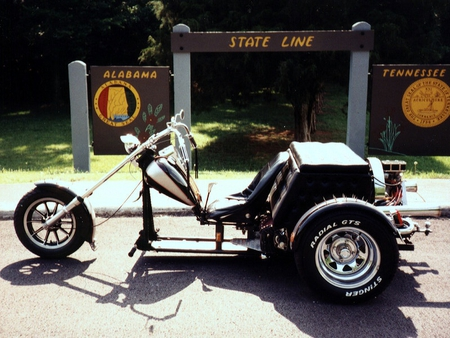 The Outlaw Lowrider - trike, motorcycles, bikes, lowrider, harley