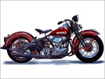 Cool old Harley