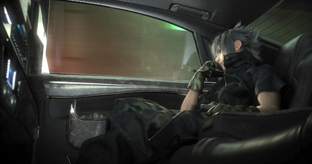 Noctis Lucis Caelum - games, noctis lucis caelum, male, window, noctis, white hair, ff13, video game, game, video games, gloves, final fantasy series, final fantasy versus xiii, spiky hair, ffxiii