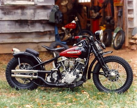 48 Panhead Tt Bobber Harley Davidson Motorcycles