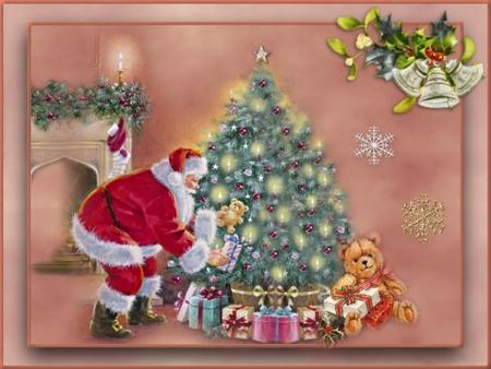 THE MAGIC OF CHRISTMAS! - christmas, gifts, magic, tree, santa