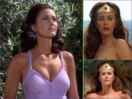 Lynda Carter is Wonder Woman - lynda carter, wonder woman, diana prince, superheroes
