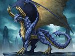 Old Blue Dragon