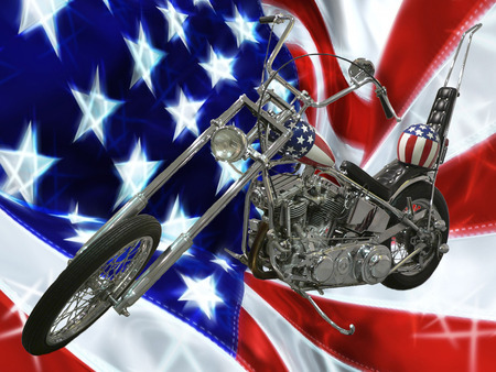 Easy Rider - chopper, usa, harley davidson, bike