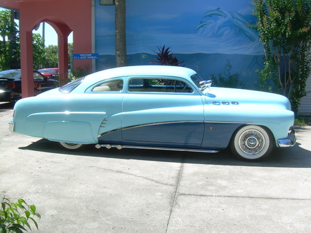 1950 Mercury Custom lead sled - kustom, 50, custom, mercury, chopped, lead sled, cool, kool, merc, 1950