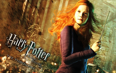 Ginny - video games, ginny, harry potter, other