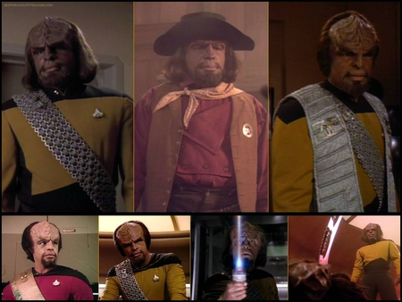 Michael Dorn as Lt. Worf from Star Trek: The Next Generation - lt worf, klingons, star trek the next generation, klingon, tng, star trek, michael dorn