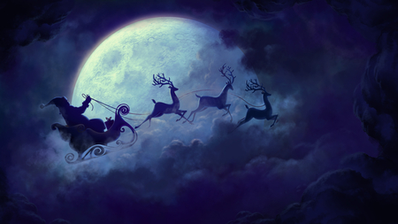 Magic Christmas.Magic Christmas 3d And Cg Abstract Background Wallpapers On