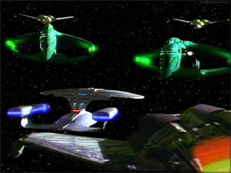 Turning the Tables - star trek, romulan, star trek the next generation, klingon