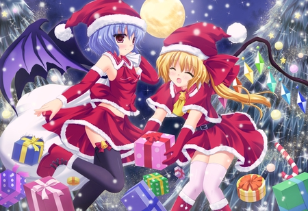 Merry Christmas Other Anime Background Wallpapers On Desktop