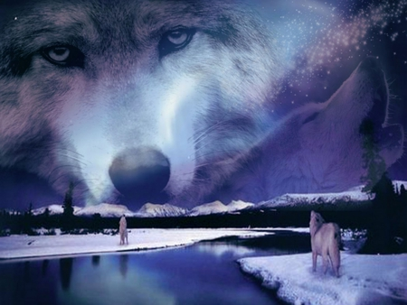 Spirit Wolf Pack Other Amp Animals Background Wallpapers